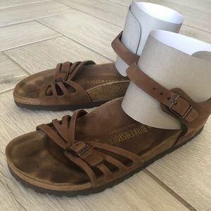 Birkenstock Bali nubuck sandals